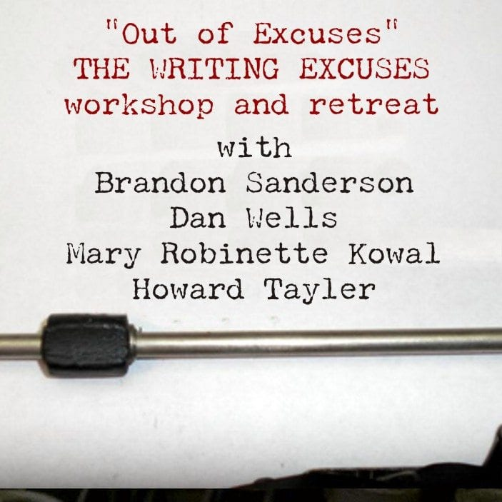 writing excuses podcast Posts about science fiction book review podcasts written by ryan  using more and more energy on the podcast and less and less on writing  writing excuses.