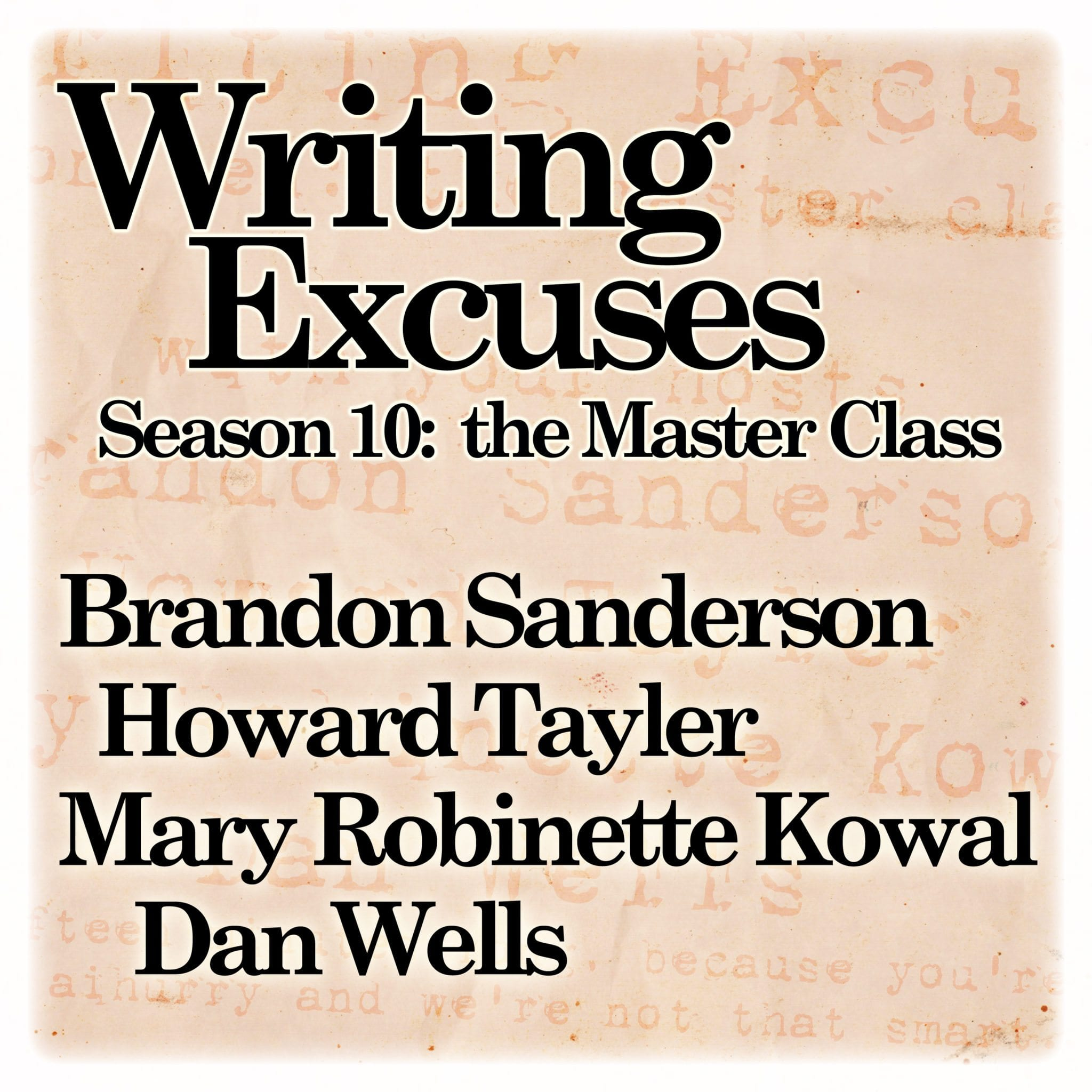 writing excuses podcast