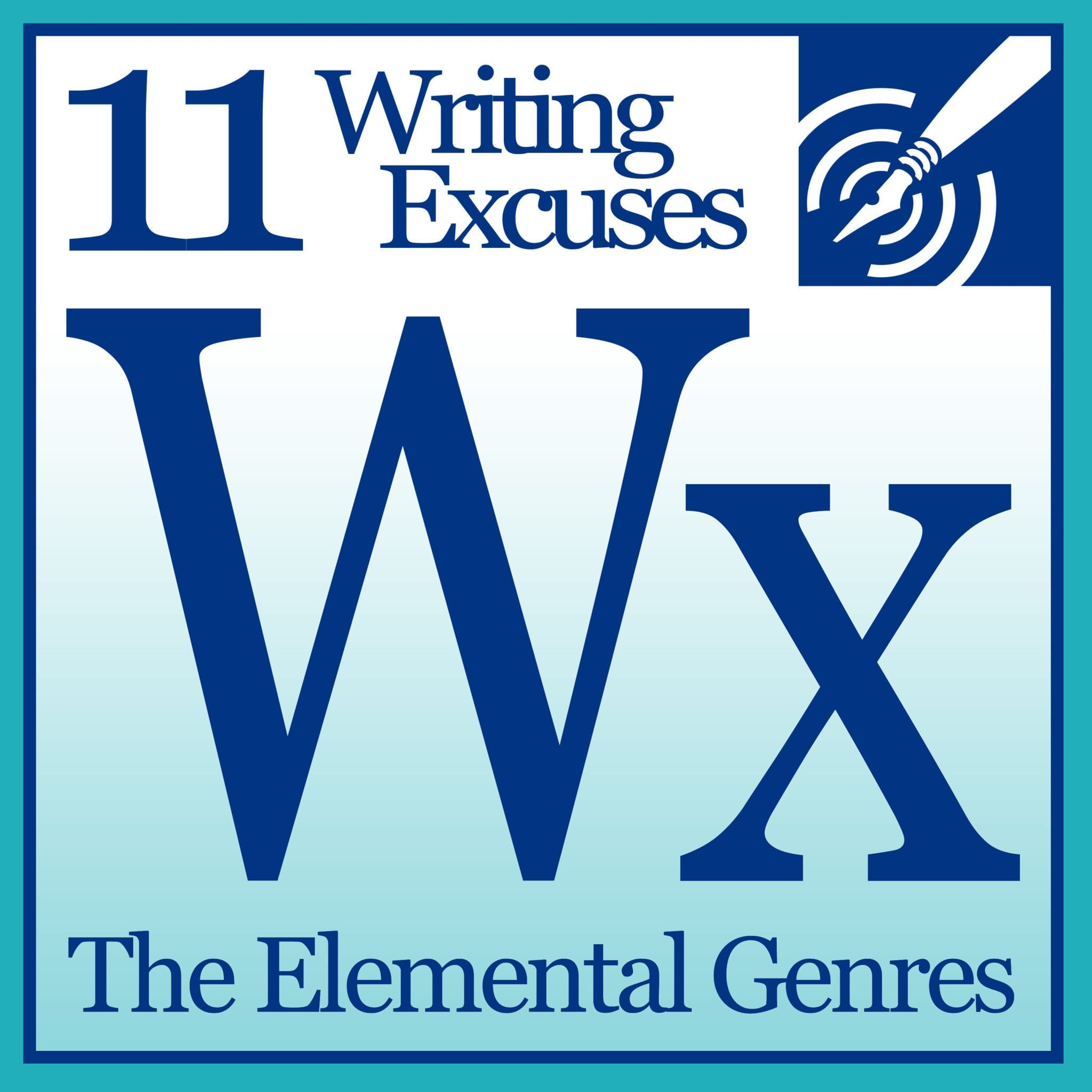 writing excuses podcast Writing excuses brandon sanderson, mary robinette kowal, dan wells, and howard tayler  podcast episodes  with special guests bill fawcett and carrie patel bill.